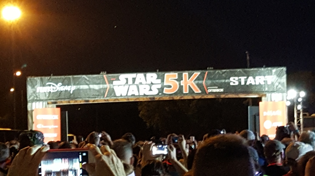 Star Wars Half Marathon - Dark Side, April 2018