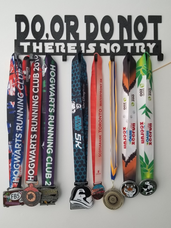 Hogwarts Running Club Virtual Running Medals