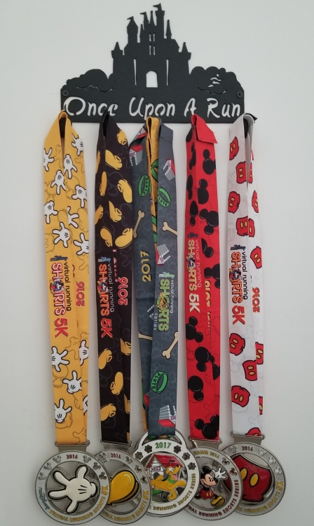 runDisney Virtual Running Shorts Medals