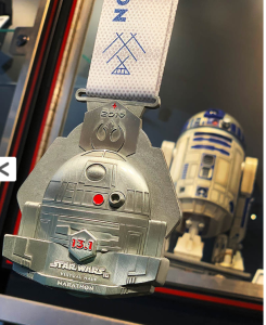 runDisney Star Wars Virtual Half Marathon Medal